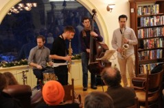 Dec. 2012 performance of Matador Jazz band. Photo courtesy: J.D. Sloan